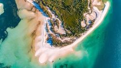 utende beach area, mafia island
