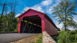 Utica Covered Bridge in Thurmont Maryland