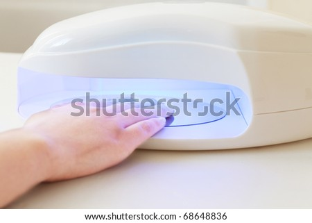 uv system of nails extension