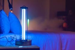 UVC  rays and ozone sanitizing Lamp