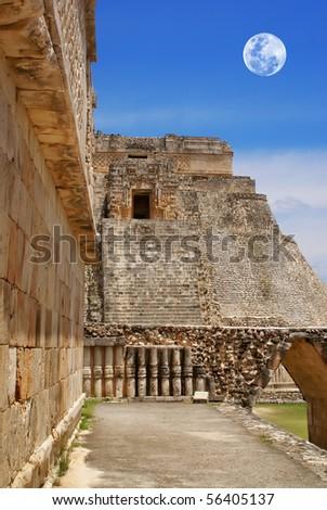 Uxmal ruins Yucatán Mexico