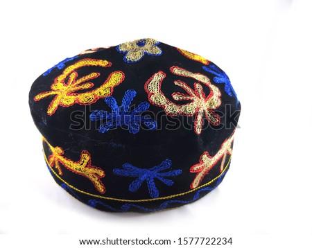 Uzbekistan hat, suzani hat, Ethnic hat, hat, cap, man, skullcap, #1577722234