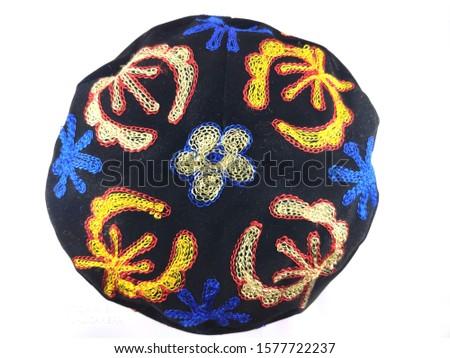 Uzbekistan hat, suzani hat, Ethnic hat, hat, cap, man, skullcap, #1577722237