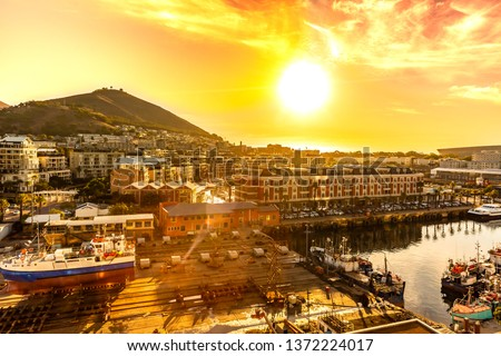 V&A waterfront of Cape Town , South africa #1372224017