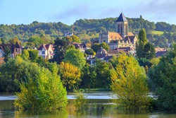 Vétheuil, France, near the Seine river