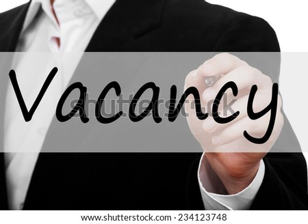 Vacancy concept
