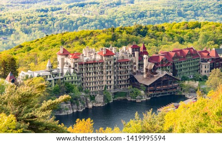 Vacation at Mohonk Mountain house