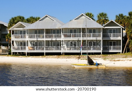 Vacation hotel on Florida's Gulf Coast in the quiet town of Cedar Key.