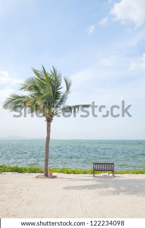 Vacation Image Of Tropical Beach
