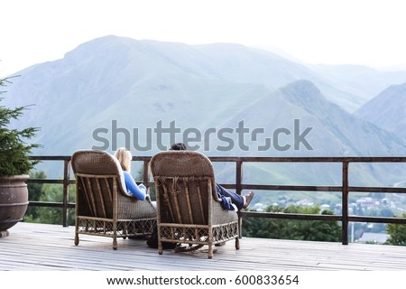 Vacation in the mountains #600833654