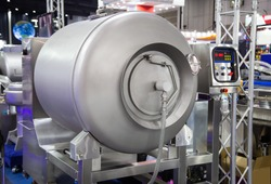 Vacuum meat tumbler massaging machine for food industry