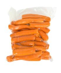 Vacuum sealed carrot
