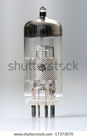 Vacuum tube - old electronic component, semiconductor device, the predecessor of the transistor