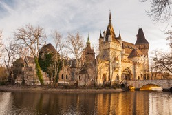 Vajdahunyad Castle is a castle in the City Park of Budapest, Hungary.