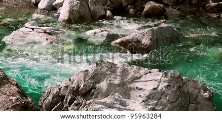 Valbona river in Albania 04