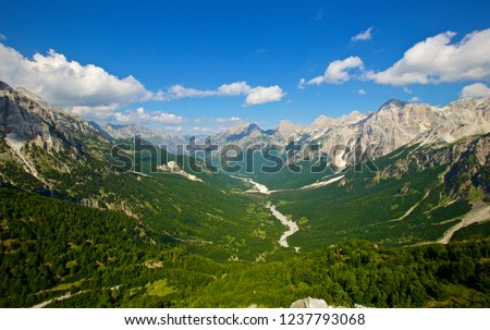 Valbona Valley National Park Albania