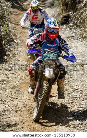 11th National Enduro Championship 2013