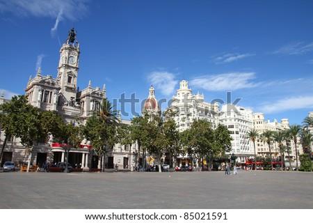 valencia  spain. famous city...