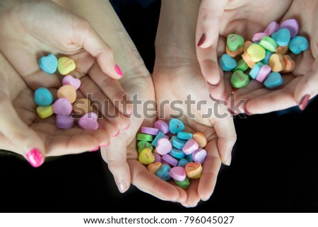 Valentine Candy Hearts #796045027