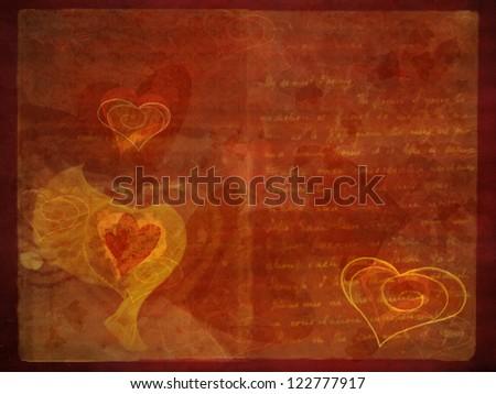 valentine grunge texture