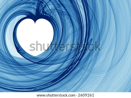 Valentine heart - stock photo
