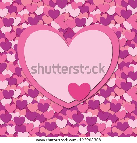 Valentine heart card background template ez canvas valentine heart card background template maxwellsz