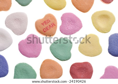 Wallpaper Valentine Candy Heart Sayings