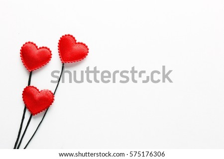 Photo of Valentine's Day is celebrated on February 14. It is a festival of romantic love and many people give cards, roses and letter. Selective focus and toned image for background. Free space for text.