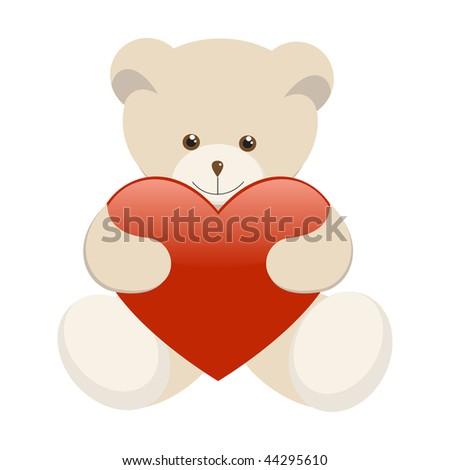 Картинки медведь держит торт