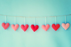Valentine's hearts