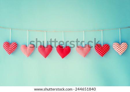 Valentine\'s hearts