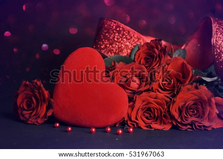 Valentines day background. #531967063