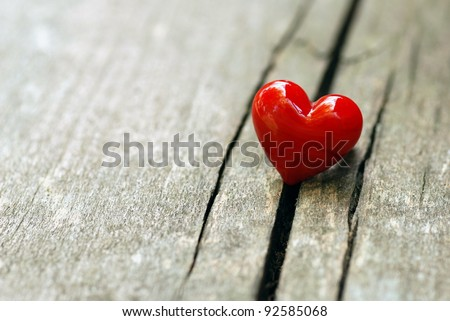 Photo of Valentines Day background with hearts.