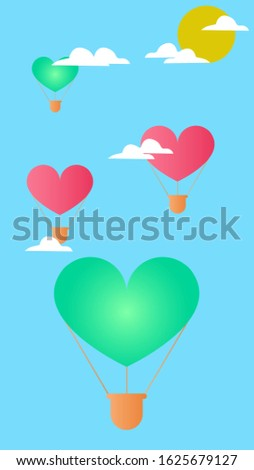 Valentines Day Backgrounds for smartphone, Love, Romance and Cartoon