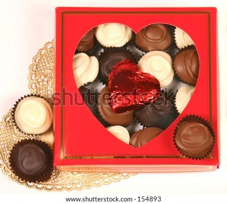 Valentines day chocolates.