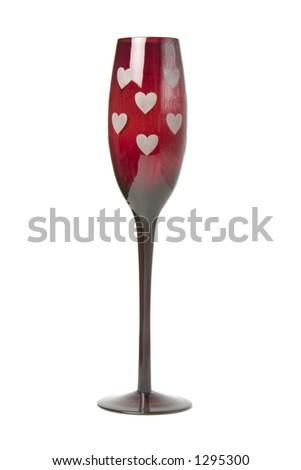 Valentines Wine Glass
