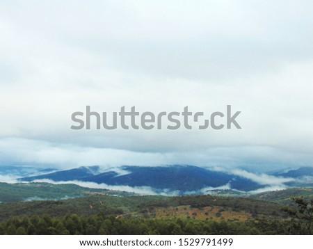 Vales de Minas Gerais. Valleys of Minas Gerais, landscape with all the beauty of Minas Gerais.