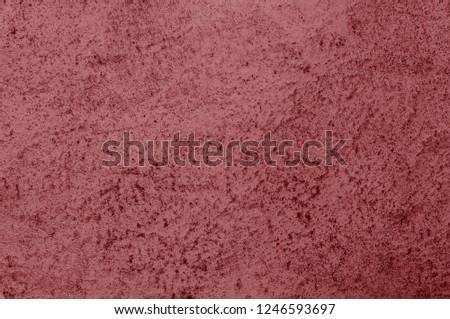 Valiant Poppy texture decorative Venetian stucco for backgrounds #1246593697