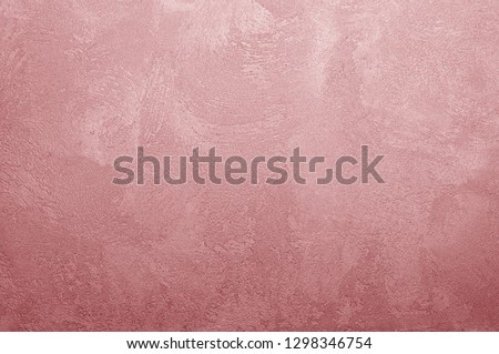 Valiant Poppy texture decorative Venetian stucco for backgrounds #1298346754