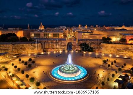 Valletta, Malta during Sunset, taken in November 2020 Stock fotó ©
