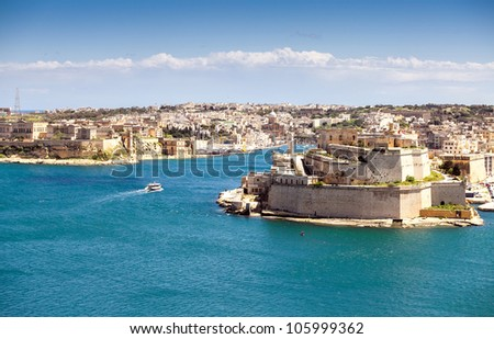 Valletta Malta Grand Harbor