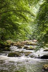 valley Bodetal Bode, Germany