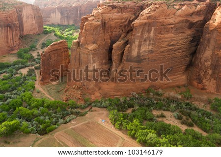 Valley Floor, Canyon de Chelly National Monument