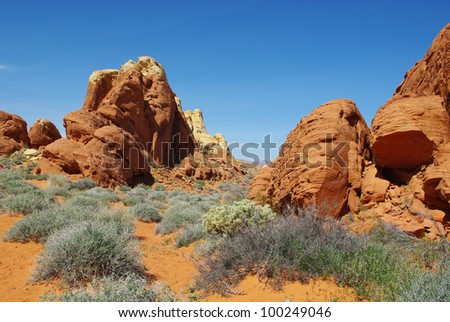 Valley of Fire impression, Nevada