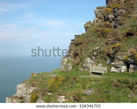 Valley of Rocks in Exmoor