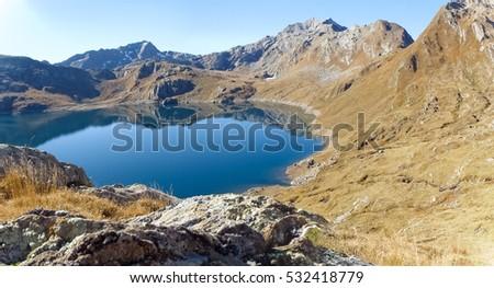 Valley of Sambuco, Switzerland: Walking from Grasso di Dentro to Lake of Naret #532418779