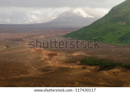 valley of ten thousand smokes - katmai / alaska