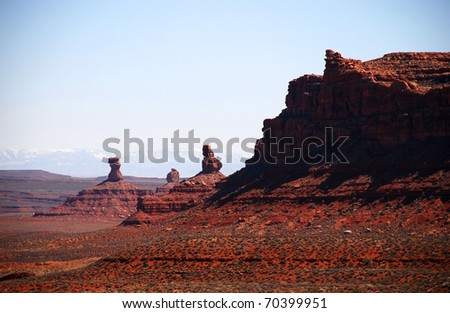 Valley of the Gods, Utah near Muley Point