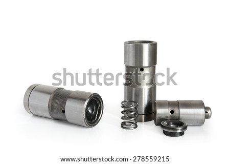 valve tappet isolated on white background Сток-фото ©