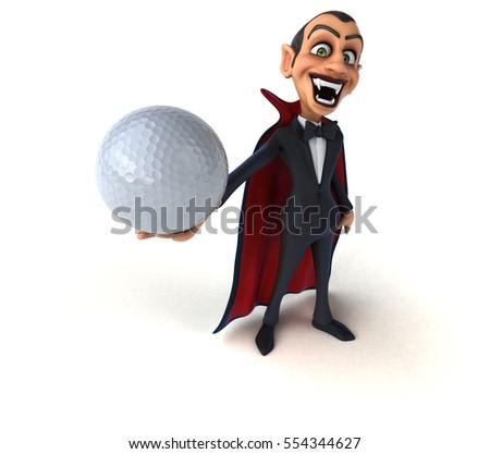 Stock Photo Vampire- 3D Illustration